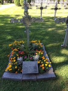Gravesite of Benedicta Riepp